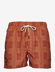 OAS - Reddy Swim Shorts - shorts - red - 0