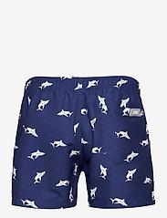 OAS - Shark Swim shorts - shorts - blue - 1