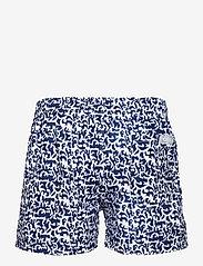 OAS - Marrakech Swim Shorts - shorts - blue - 1