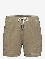 OAS - Khaki Terry Shorts - casual shorts - green - 0