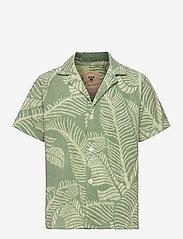 OAS - Banana Leaf Terry Shirt - green - 0
