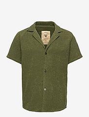 OAS - Army Cuba Terry Shirt - overhemden korte mouwen - green - 0