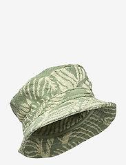 OAS - Banana Leaf Bucket Hat - bucket hats - green - 0