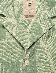 OAS - Banana Leaf Terry Shirt - green - 2