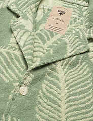 OAS - Banana Leaf Terry Shirt - green - 3