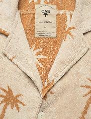 OAS - Palmy Terry Shirt - overhemden korte mouwen - beige - 2