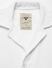 OAS - White Cuba Terry Shirt - overhemden korte mouwen - white - 2