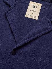 OAS - Navy Cuba Terry Shirt - overhemden korte mouwen - blue - 3