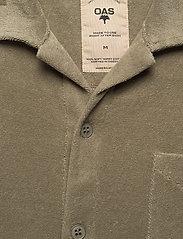 OAS - Khaki Terry Camisa - casual overhemden - green - 2