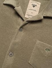 OAS - Khaki Terry Camisa - casual overhemden - green - 3