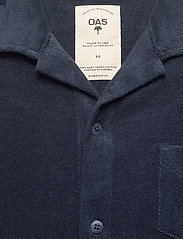 OAS - Navy Terry Camisa - casual overhemden - blue - 2
