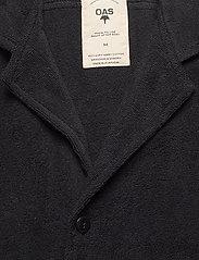OAS - Black Cuba Terry Shirt - overhemden korte mouwen - black - 2