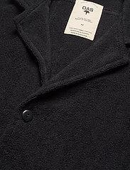 OAS - Black Cuba Terry Shirt - overhemden korte mouwen - black - 3