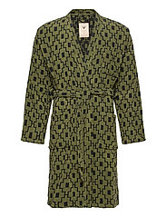 The Machu Pichu Robe - GREEN