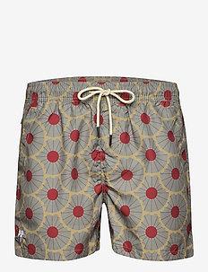 Grey Gatsby Swim Shorts - shorts - grey