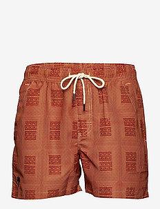 Reddy Swim Shorts - shorts - red