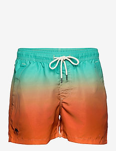 Orange Grade Swim Shorts - shorts - orange