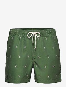 Giraffe Swim Shorts - shorts - green