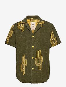 Mezcal Terry Shirt - chemises à manches courtes - green