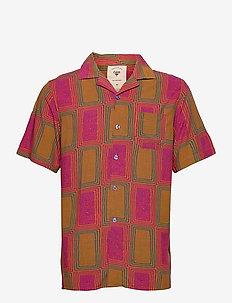Tribal Shirt - chemises à manches courtes - orange