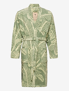The Banana Leaf Robe - pegnoirs - green