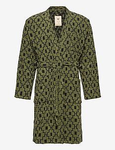 The Machu Pichu Robe - kylpytakit - green