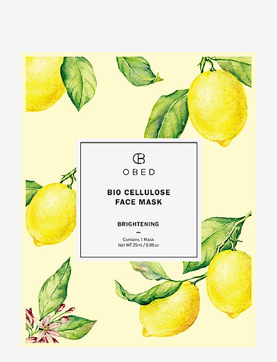 Bio Cellulose Face Mask Brightening - CLEAR