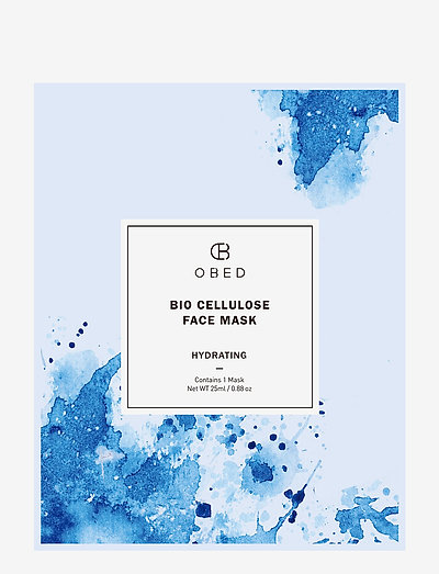 Bio Cellulose Face Mask Hydrating - CLEAR
