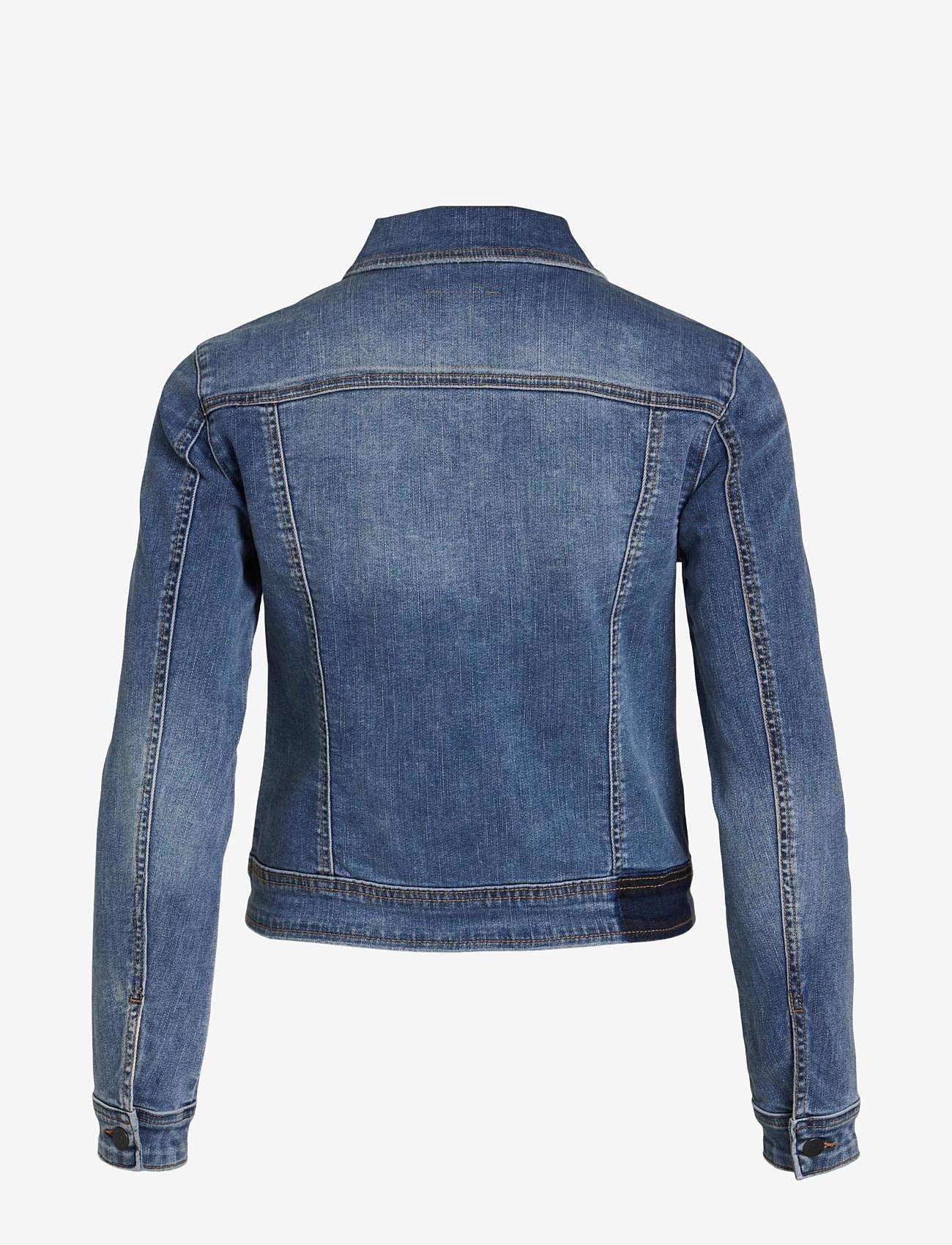 Object - OBJWIN NEW  DENIM JACKET - denim jackets - medium blue denim - 1