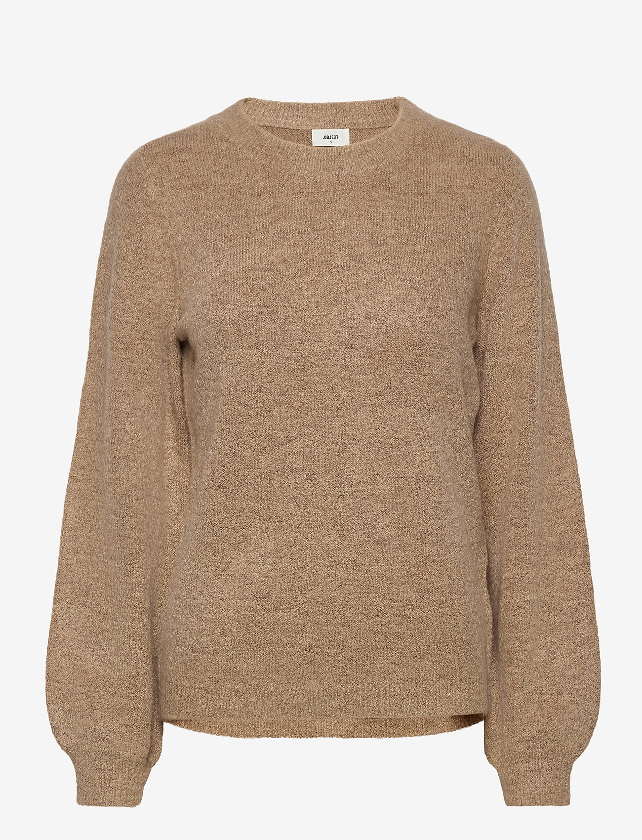 Object - OBJEVE NONSIA L/S KNIT PULLOVER - neulepuserot - incense - 0