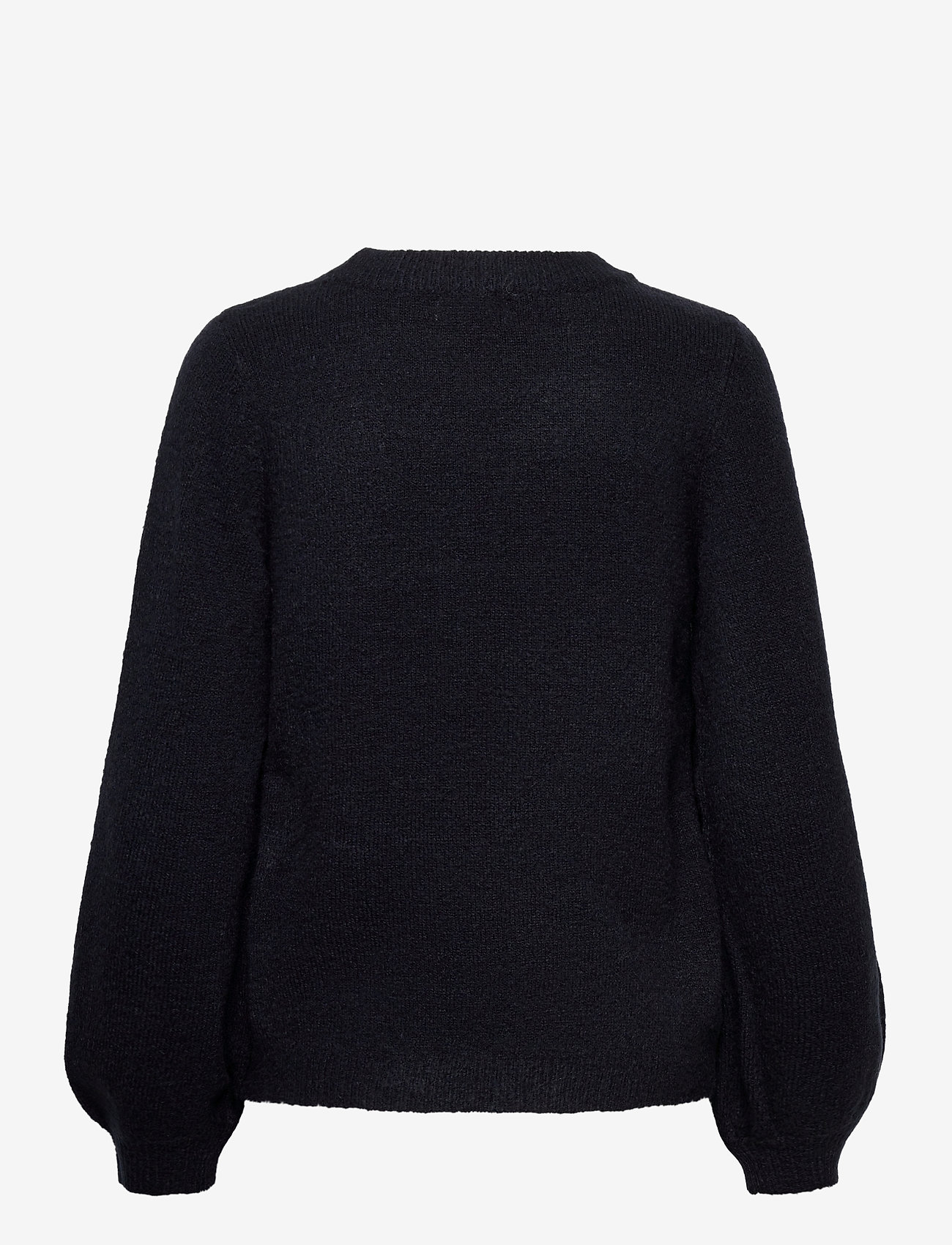 Object - OBJEVE NONSIA L/S KNIT PULLOVER - jumpers - sky captain - 1