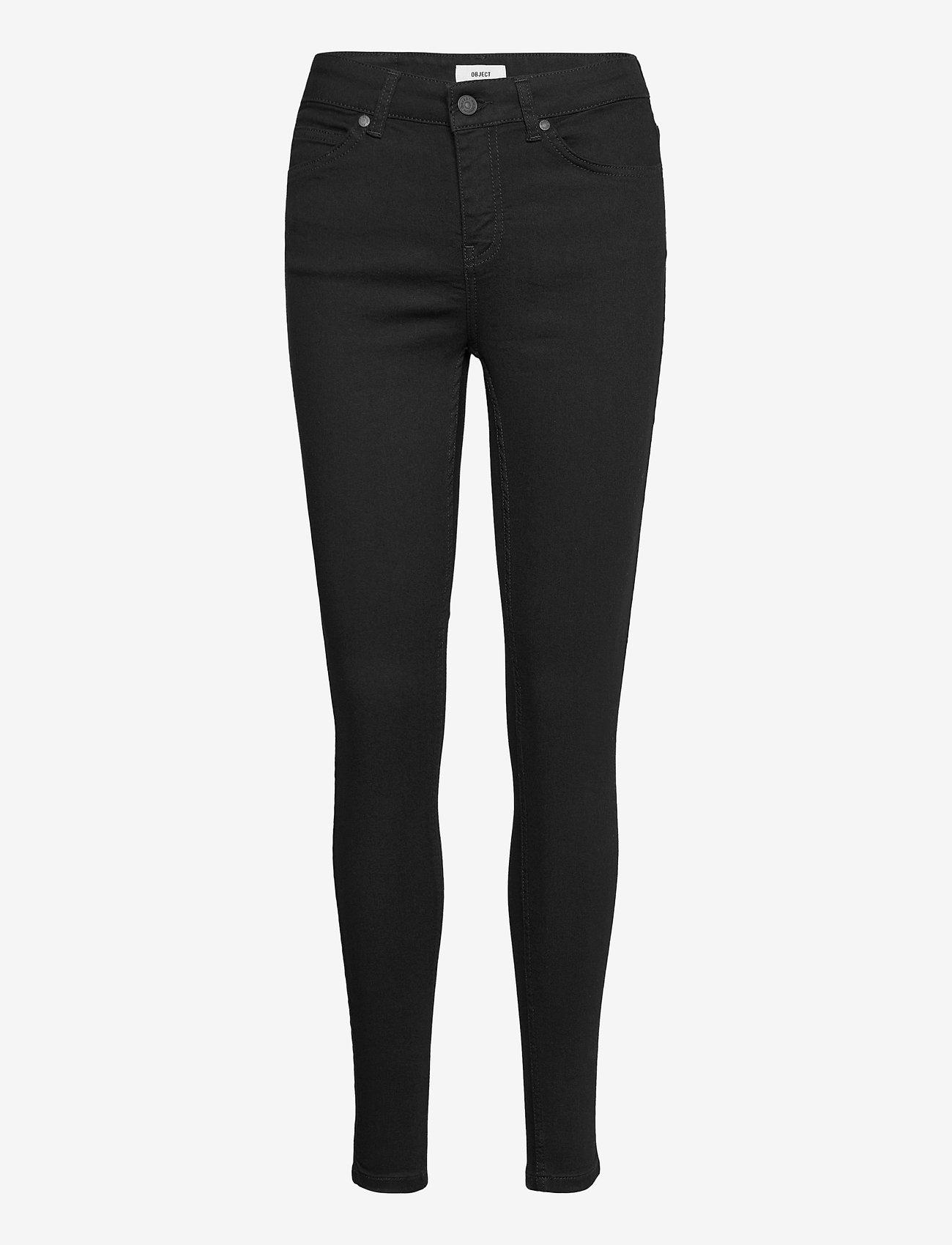 Object - OBJSKINNYSOPHIE M/W OBB284 - skinny jeans - black - 0