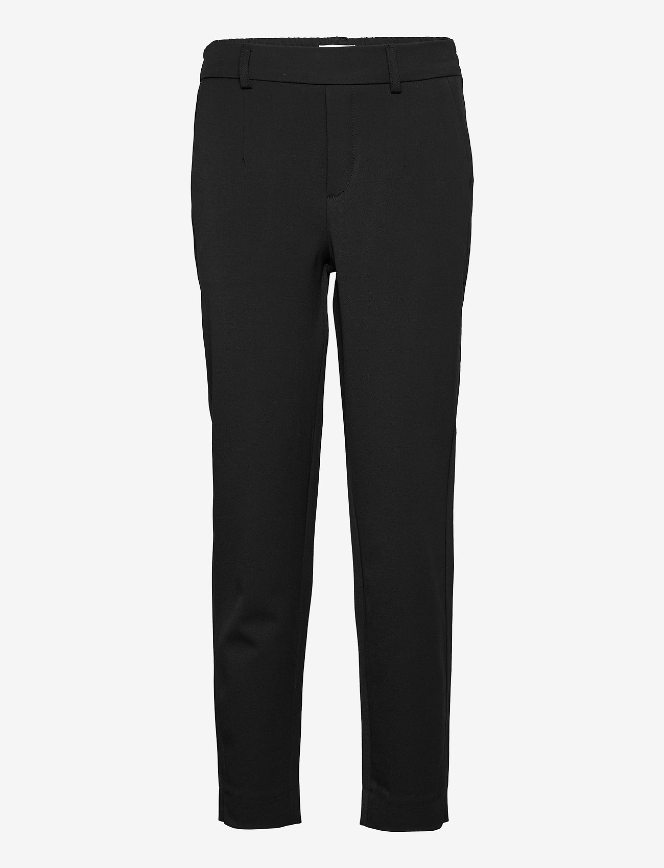 Object - OBJLISA SLIM PANT - slim fit housut - black - 0