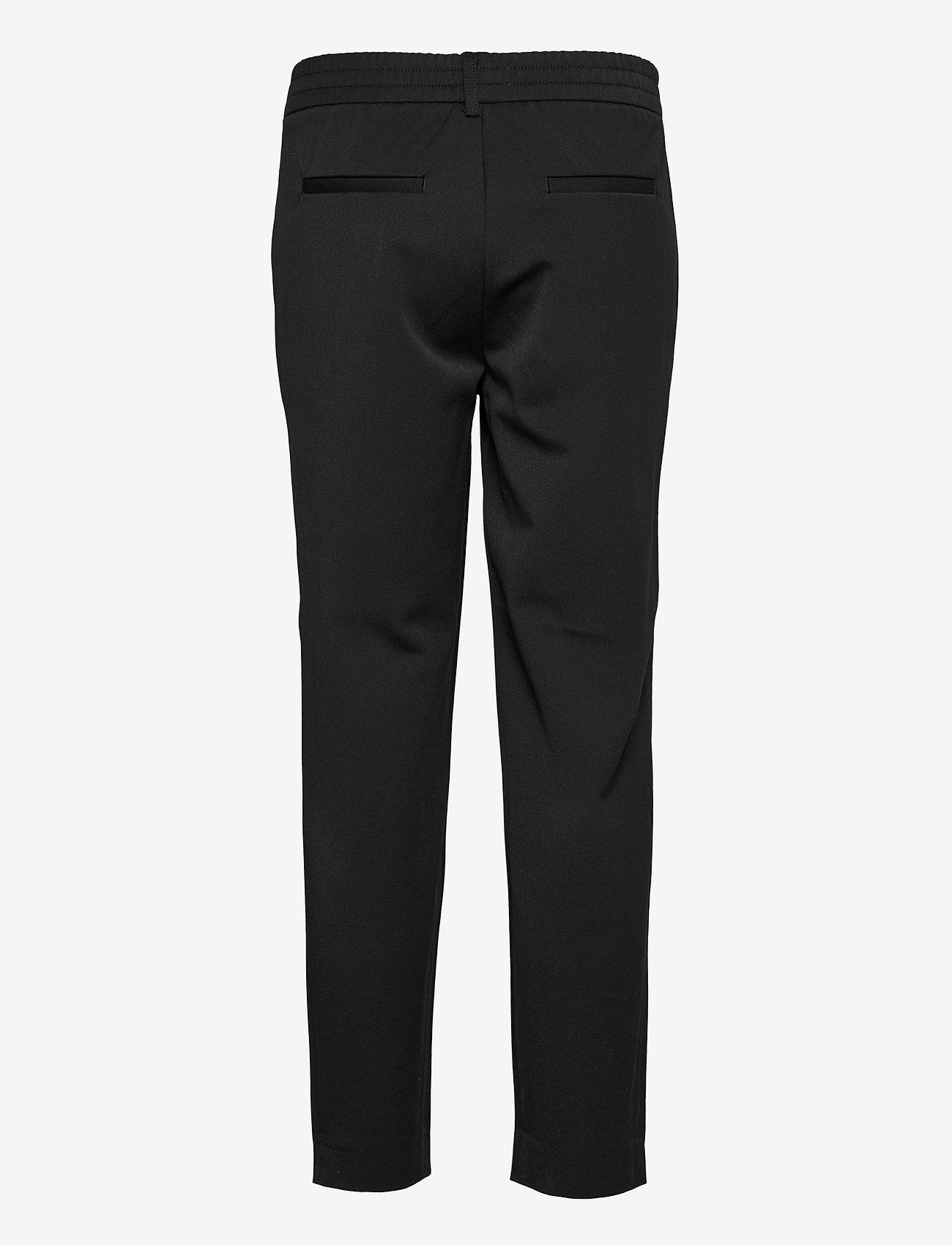 Object - OBJLISA SLIM PANT - slim fit housut - black - 1