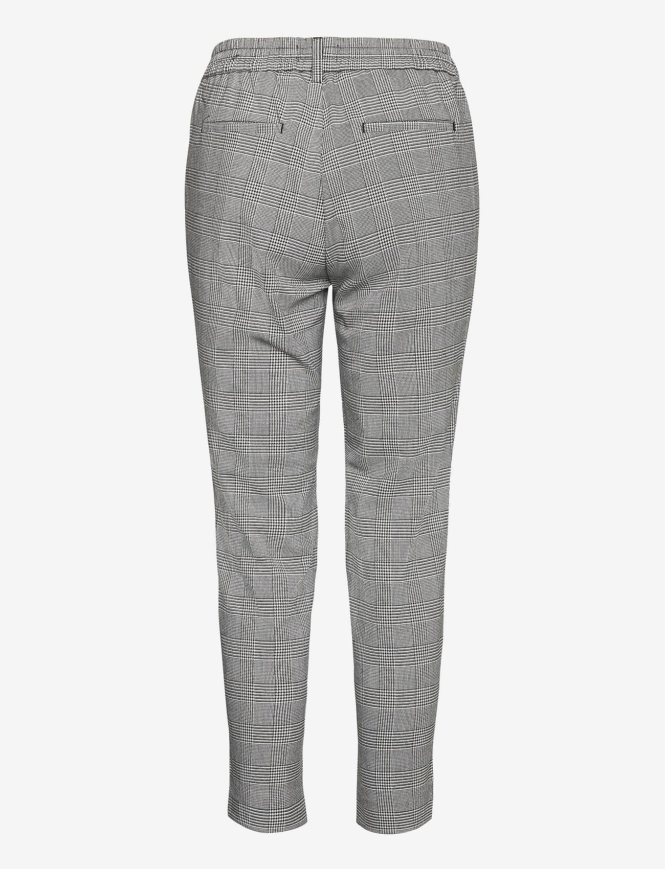Object - OBJLISA SLIM PANT - slim fit trousers - gardenia - 1