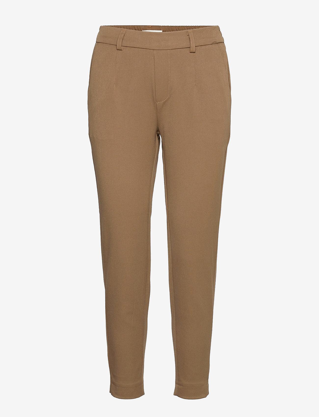 Object - OBJLISA SLIM PANT - slim fit bukser - sepia - 0