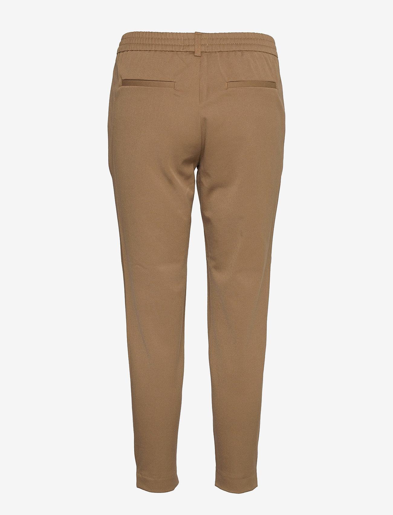 Object - OBJLISA SLIM PANT - slim fit bukser - sepia - 1