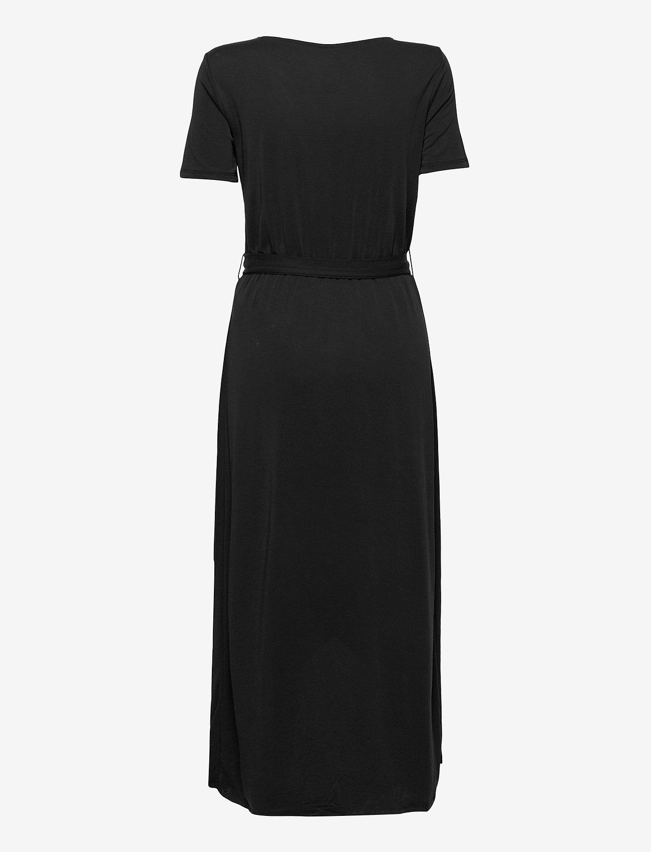Object - OBJANNIE NADIA S/S DRESS - kesämekot - black - 1