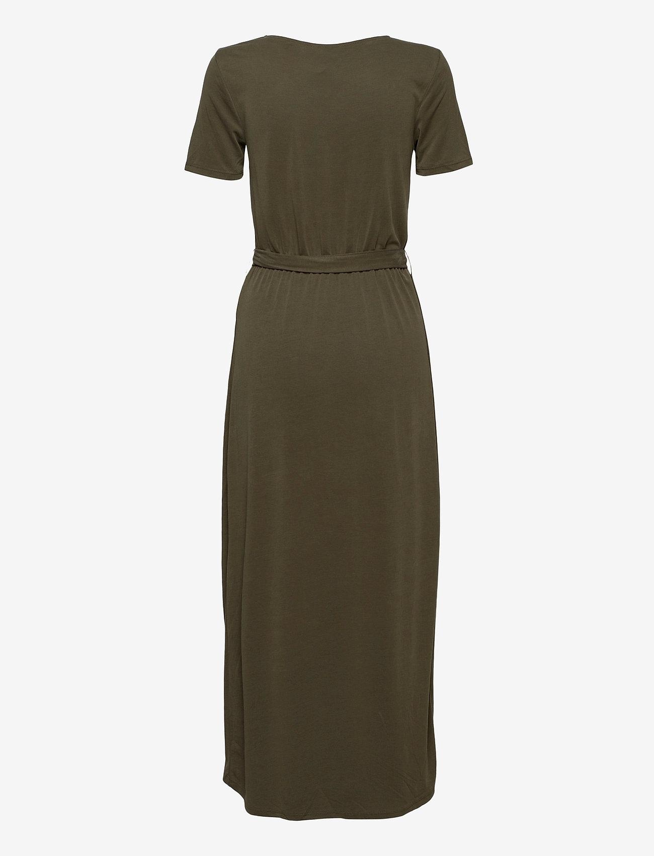 Object - OBJANNIE NADIA S/S DRESS - summer dresses - forest night - 1