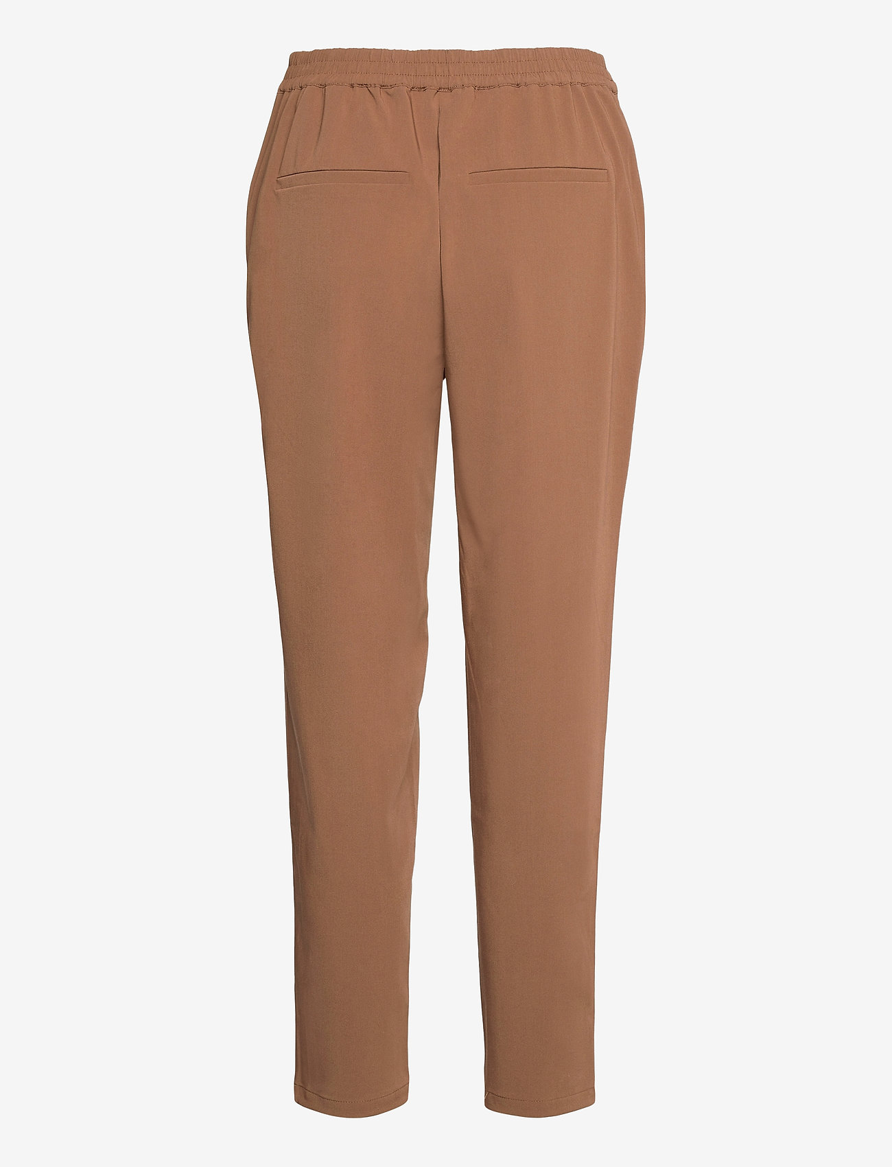 Object - OBJCECILIE NEW MW 7/8 PANTS - straight leg trousers - partridge - 1