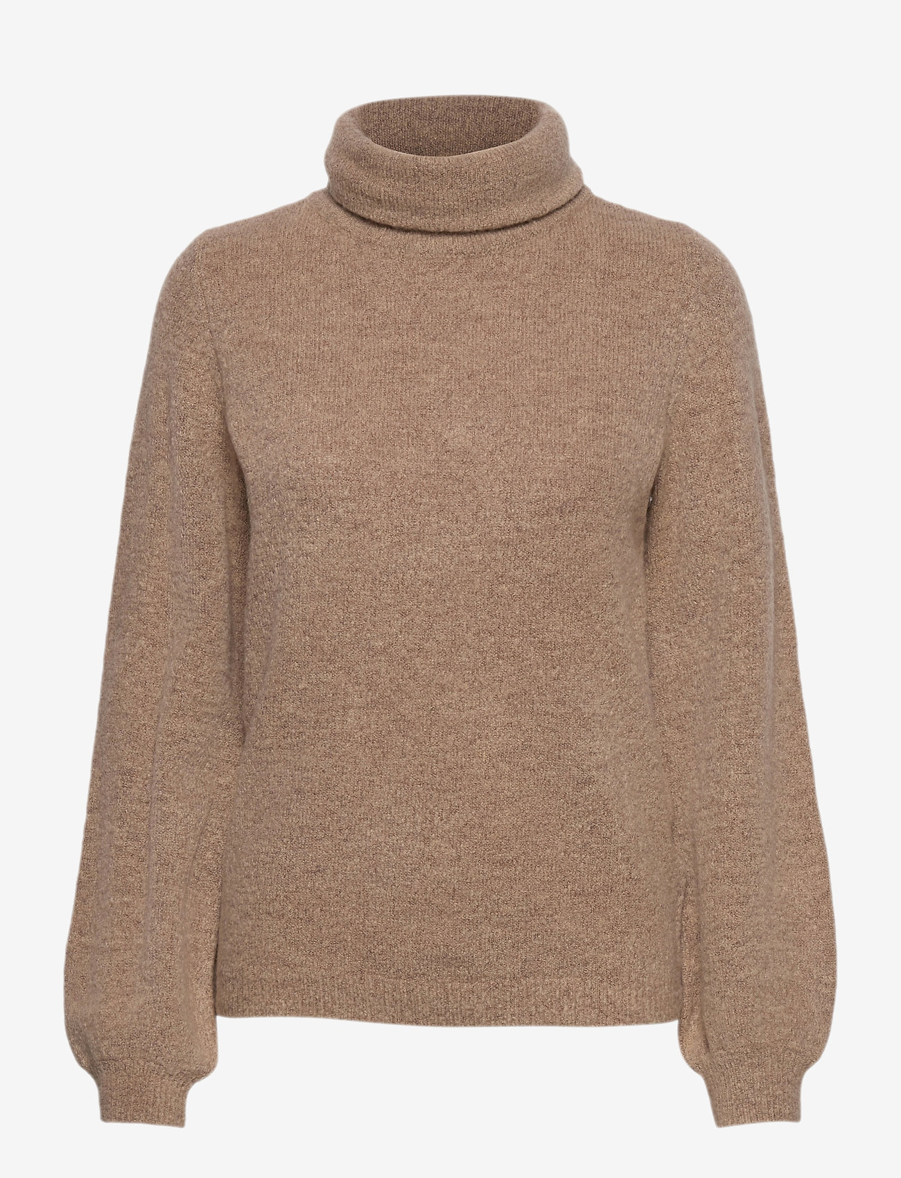 Object - OBJEVE NONSIA ROLLNECK PULLOVER - neulepuserot - incense - 0