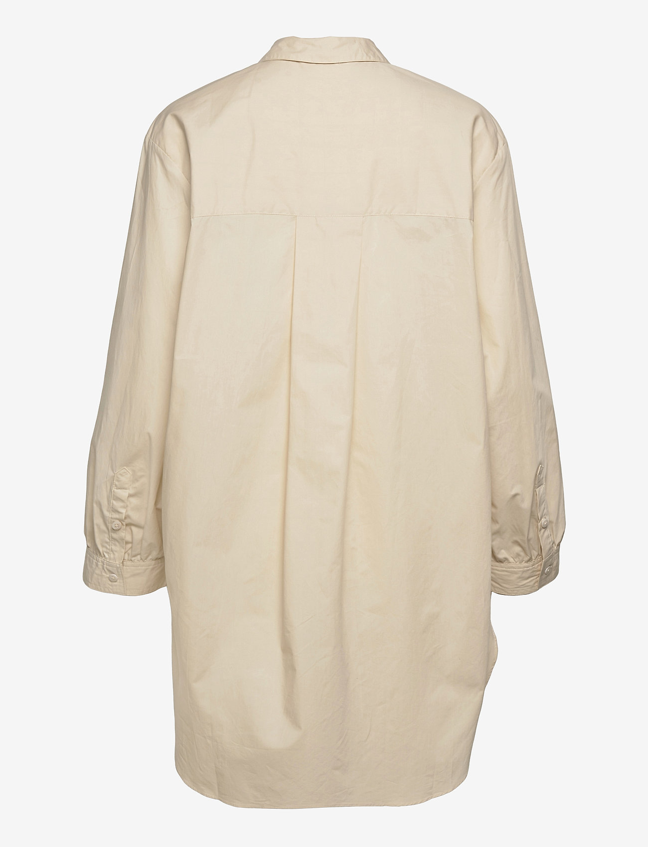 Object - OBJALMAS L/S LONG SHIRT - long-sleeved shirts - sandshell - 1