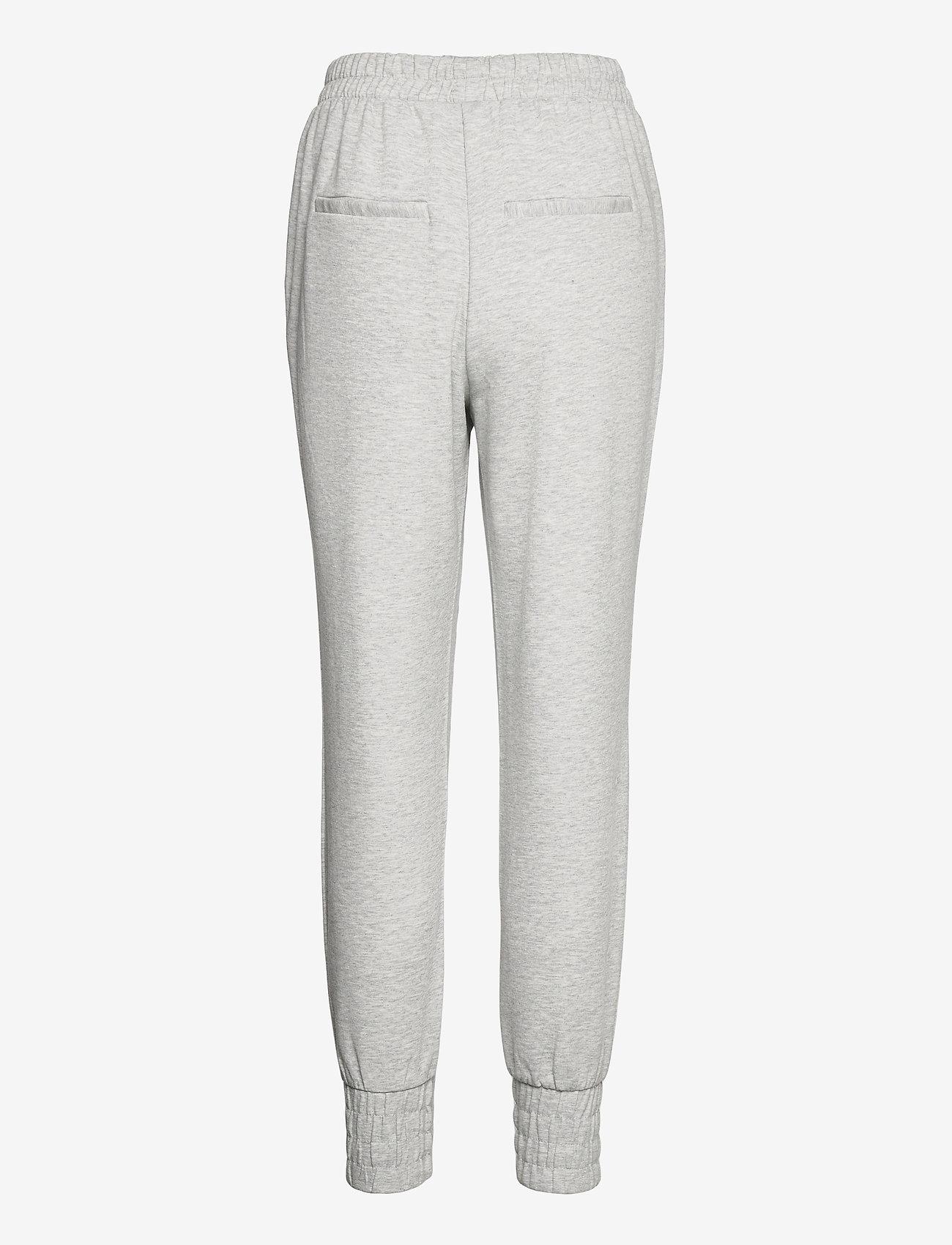 Object - OBJMEZA HW SWEAT  PANTS - clothing - light grey melange - 1