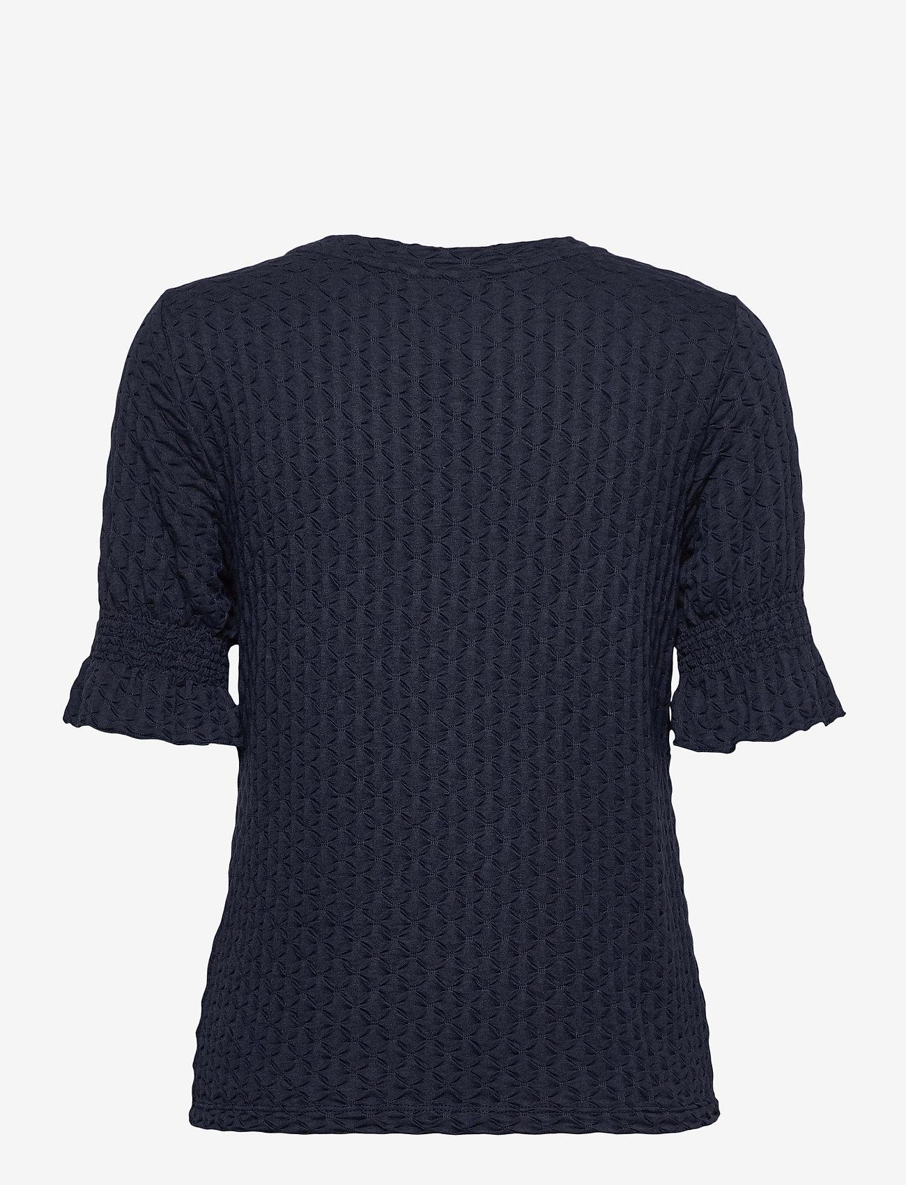 Object - OBJWARINA S/S TOP - t-shirt & tops - sky captain - 1