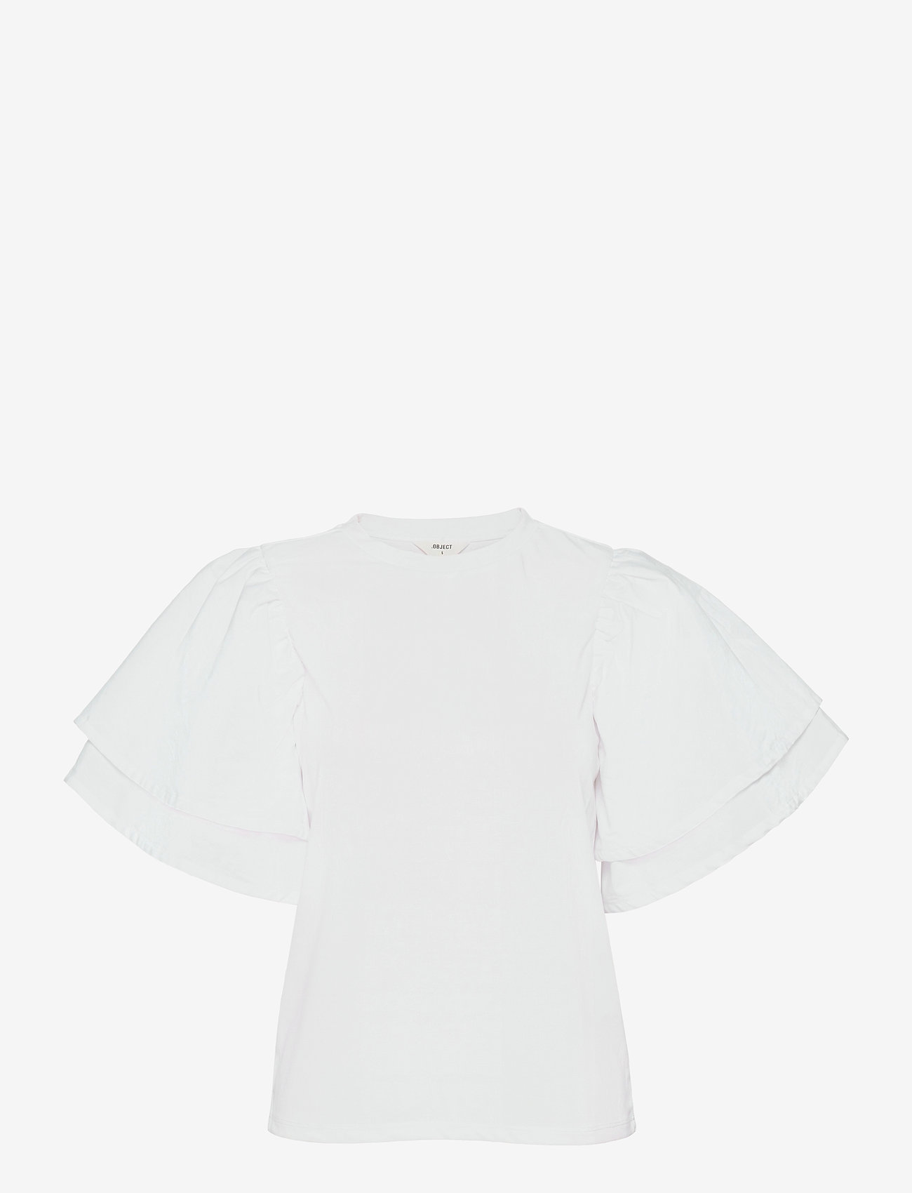 Object - OBJALIAH S/S TOP 114 - t-shirts - bright white - 0