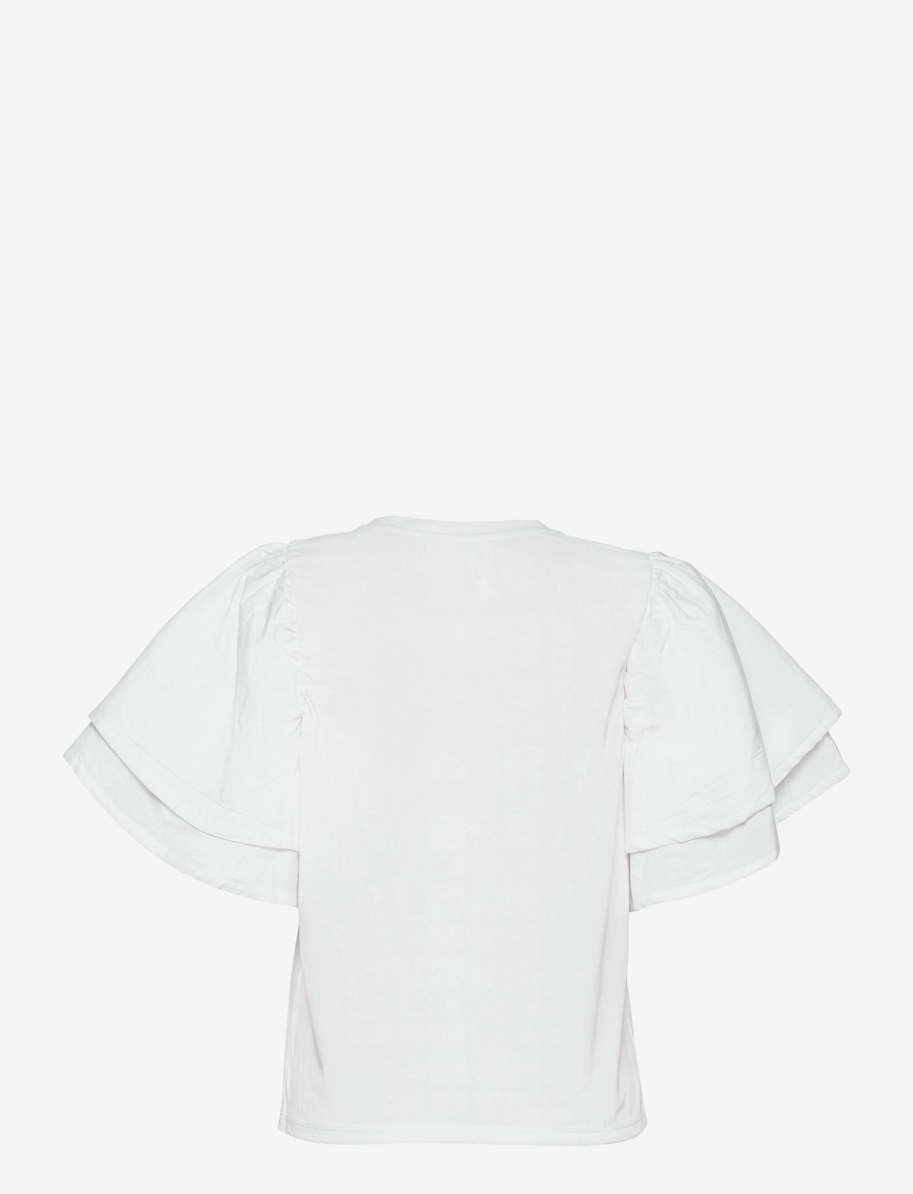 Object - OBJALIAH S/S TOP 114 - t-shirts - bright white - 1