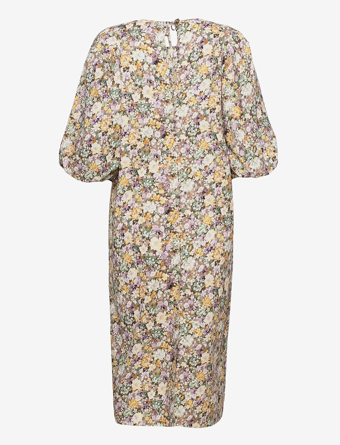 Object - OBJJASIA 3/4 MIDI DRESS 114 - summer dresses - sandshell - 1