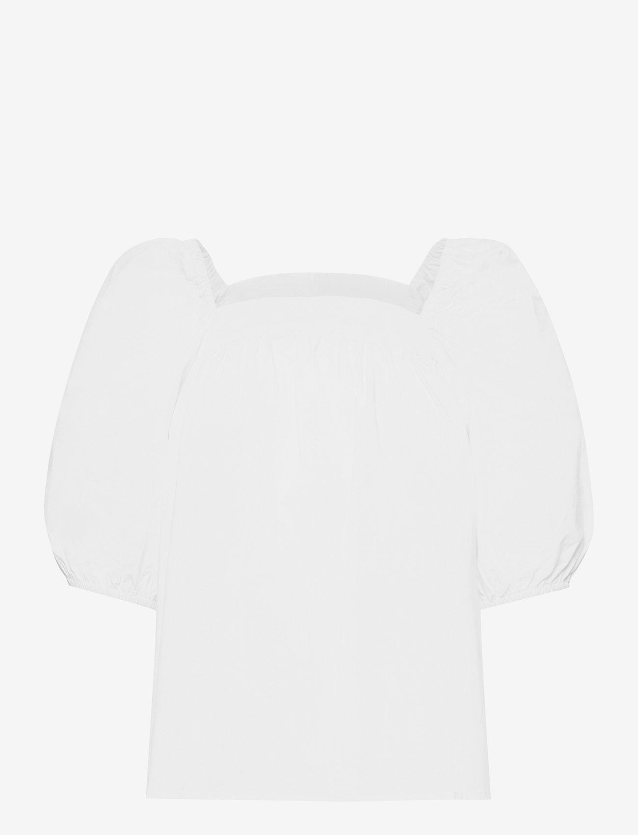 Object - OBJJASIA S/S TOP 114 - t-shirts - bright white - 0