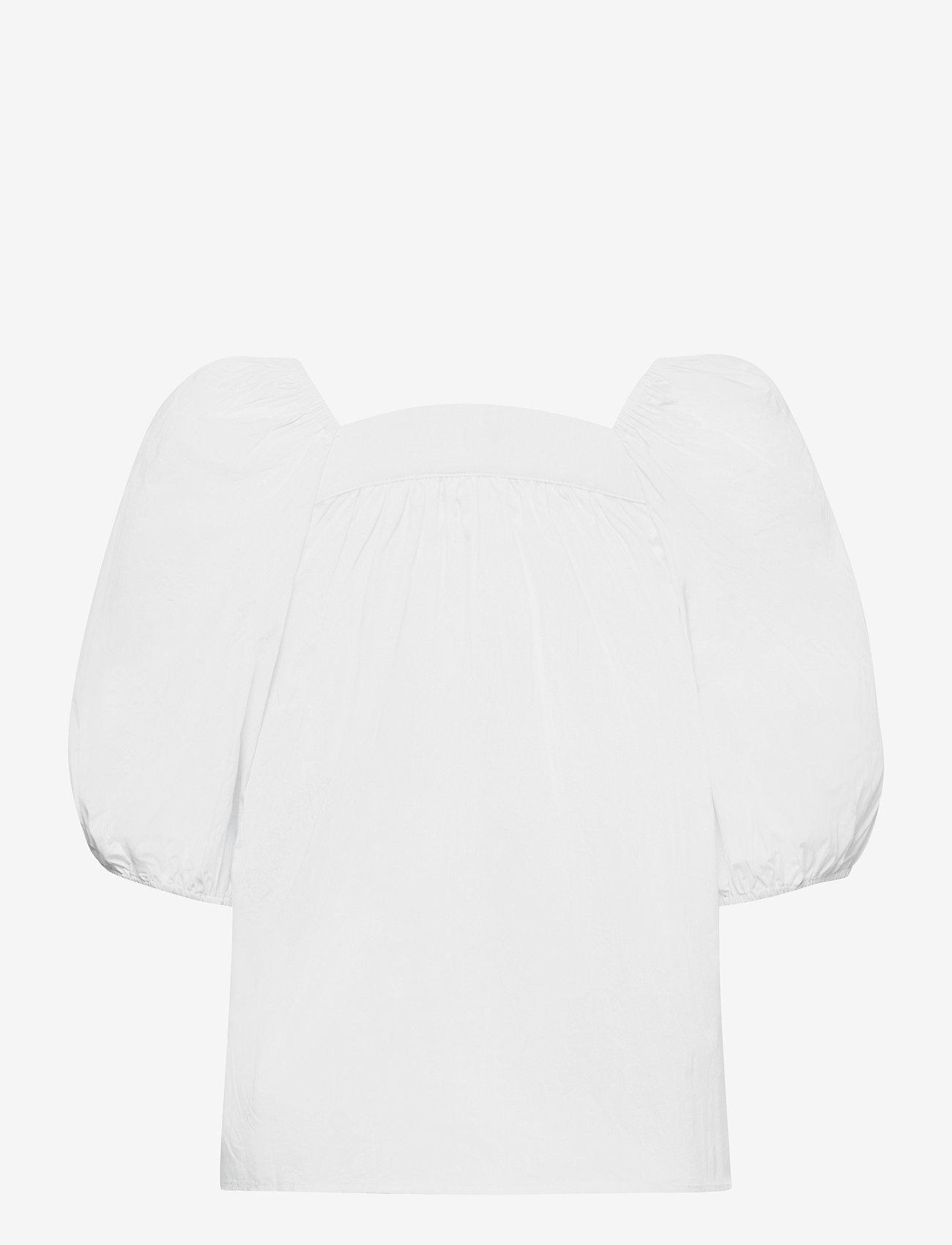 Object - OBJJASIA S/S TOP 114 - t-shirts - bright white - 1