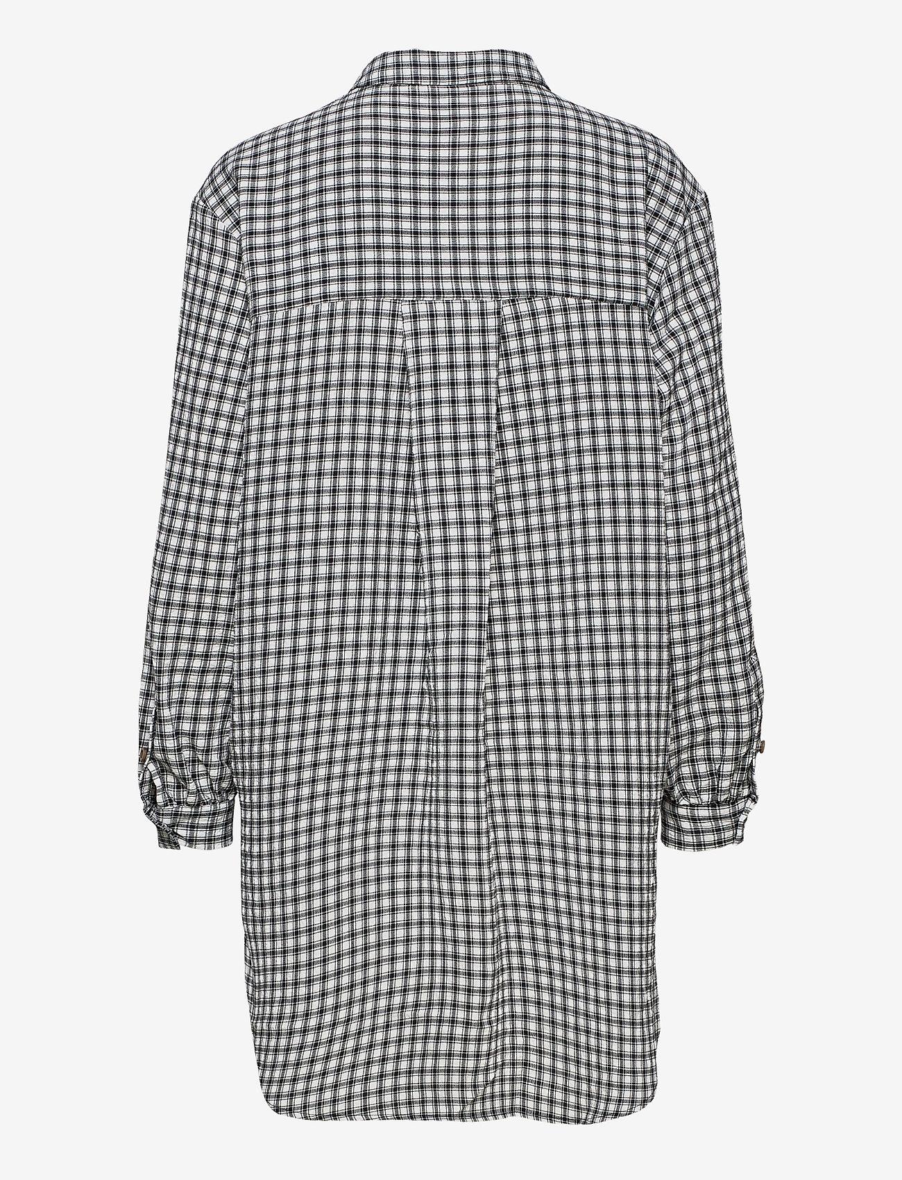 Object - OBJTAMAR L/S SHIRT 115 .C - long-sleeved shirts - black - 1
